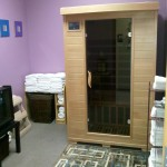Our state of the art Infrared Sauna.