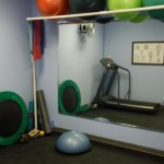 On-site fitness and rehabilitation room.