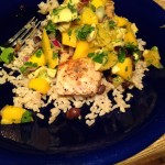 Pan Fried Tilapia with Mango Salso