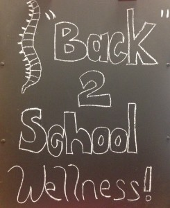 Back to School Wellness–5 Reasons to Have Your Child Checked by a Chiropractor Today!