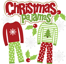 Christmas Pajama Day!