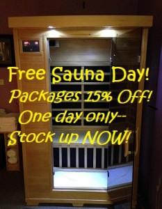 FREE Sauna Day October 2021